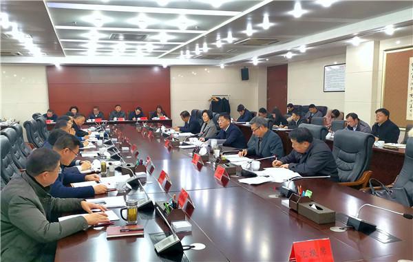 魏晓明主持召开市委常委会会议 部署新型冠状病毒感染的肺炎疫情防控等工作